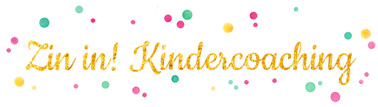 Zin in! Kindercoaching